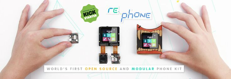 RePhone – a new approach to modular smartphone design