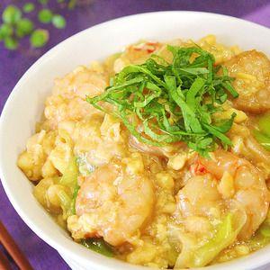 簡単お安く!海老天風の卵とじ丼♪+by+apomomokoさん+|+レシピブログ+-+料理ブログのレシピ満載! 海老天を買わず、作らず、お安く!忙しい時にすぐ出来る、卵と絡めて口に入れたら海老天の味♪  衣を付けない嬉しいメリットは入れるタイミングでトロッ、カリッっとお好みに出来ます。  海老の歯ごたえで満腹感...