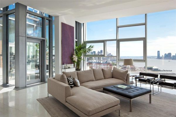 Wonderful Spectacular Penthouse In Chelsea. This Square Foot Luxury Penthouse Is  Located In Avenueu201d, A Residential Tower Designed By French Architect Jean  Nouvel In ... Nice Design