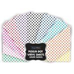 Polka Dot Iron On Vinyl Sheet (Select Color) | Potty Training Concepts