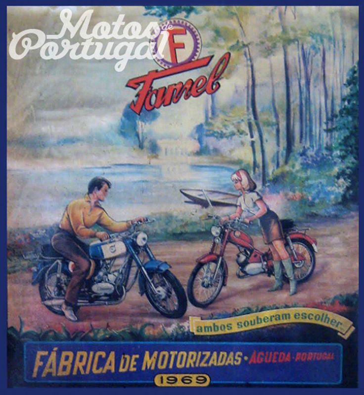 FAMEL Mopeds 1969 (Made in Portugal)