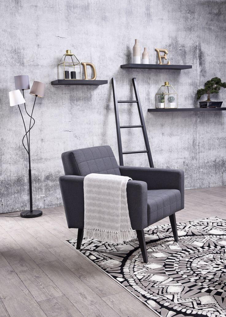 Piristystä sisustukseen nojatuolilla! 😊 Malli: Trip  Verhoilu: Kangas, Spy Vaihtoehdot: lepotuoli ja 2-istuttava sohva  Jälleenmyyjä: Sotka-myymälät  #pohjanmaan #pohjanmaankaluste  #koti #olohuone #armchair #livingroominspo #livingroomdecor