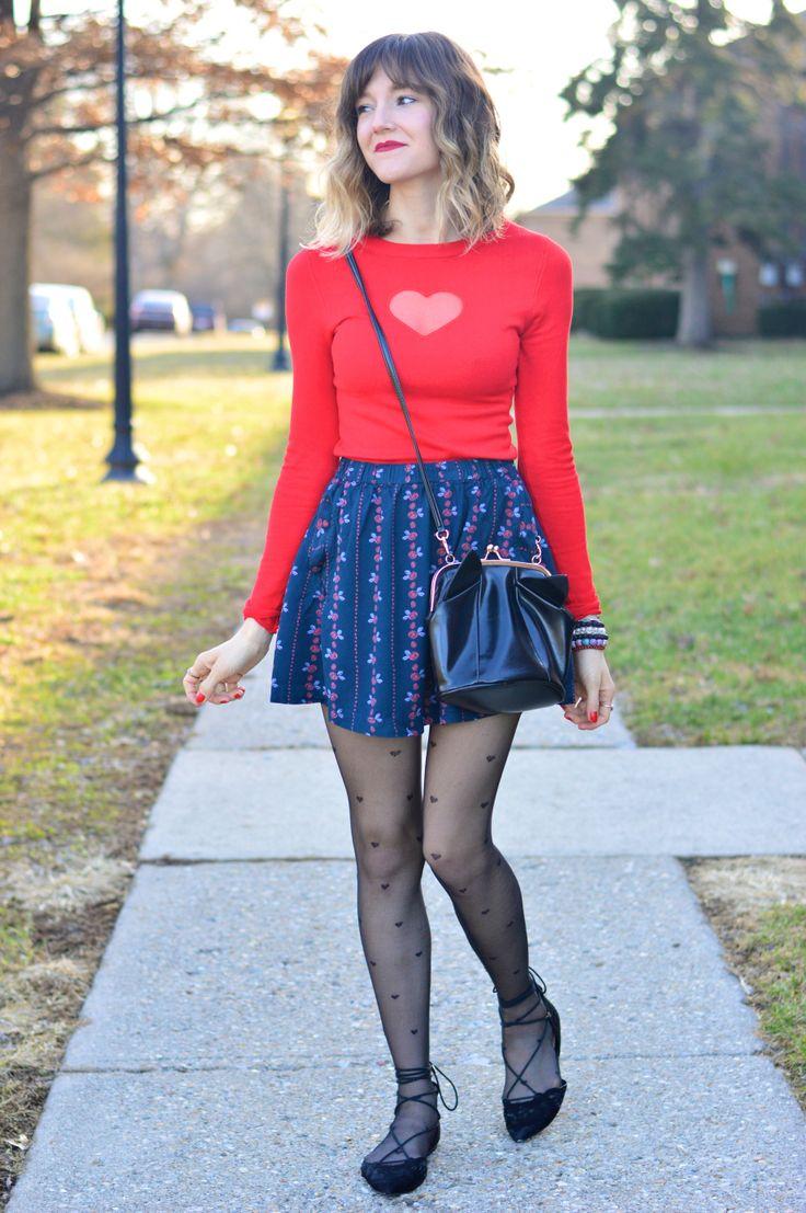 Street style legwear looks alittlelau.com - Fashionmylegs : The tights and hosiery blog