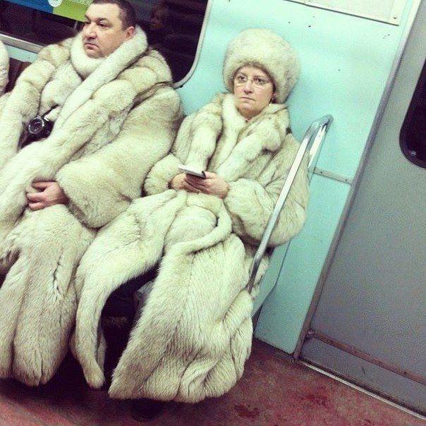 Бояре в метро