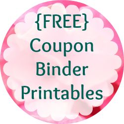 Ultimate list of free coupon binder printables from @ChristianFrugal {www.thefrugalchristian.com}