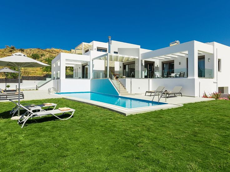 Rethymno villa rental - Villa Eolia features a 50 m2 private swimming pool!