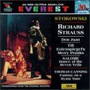 Strauss: Don Juan; Till Eulenspiegels lustige Streiche (Till Eulenspiegel's Merry Pranks); Salome: Dance of the Seven Veils / Canning: Fantasy on a Hymn Tune  Everest Records