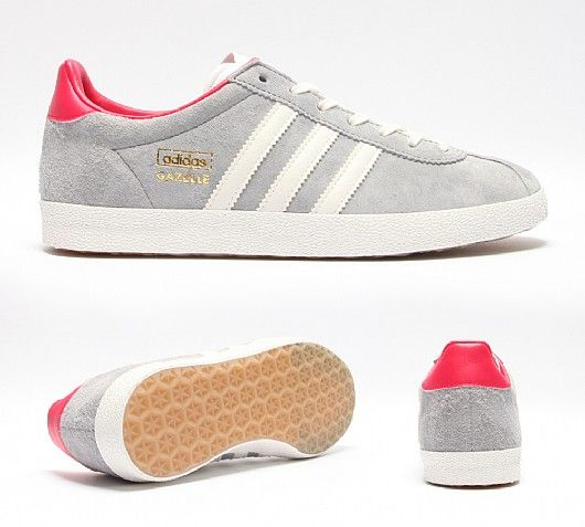 Gazelle Shoes - Grey. See More. ADIDAS ORIGINALS Womens Gazelle OG Trainer.  Buy ...