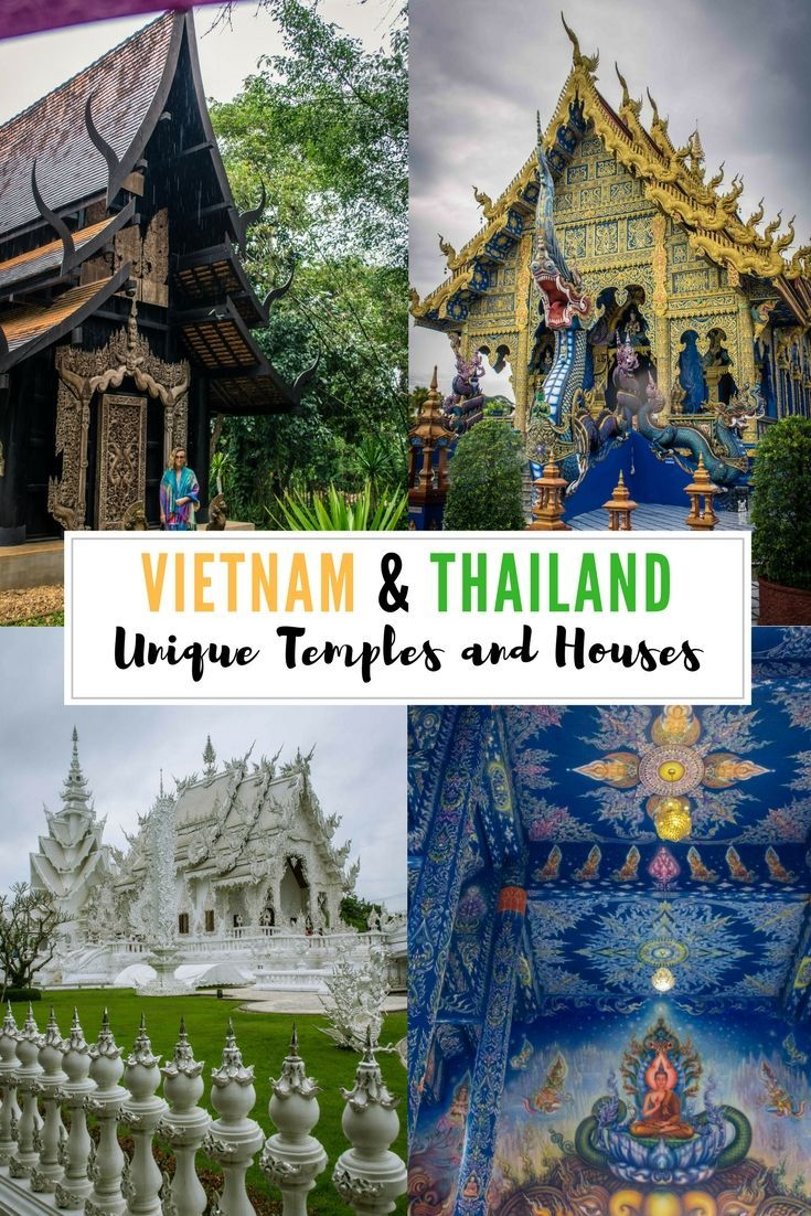The Unique Temples and Houses of Vietnam and Thailand; #Vietnam temples, #Thailand temples, Asia temples, Asia travel, Vietnam travel
