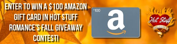 Share Hot Stuff Romance with your friends and get a chance at winning a $100 Amazon gift card! The more friends you share with, the better your chances of winning!
