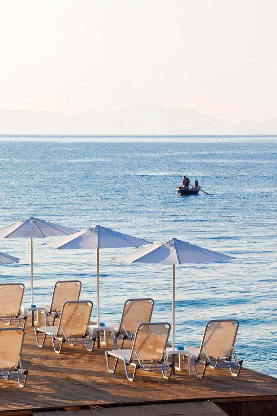Perama, Corfu, Greece.