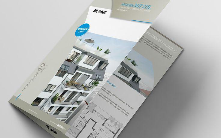 BK IMMO   Imagefolder, Slogan, Webdesign, Print by Big Pen