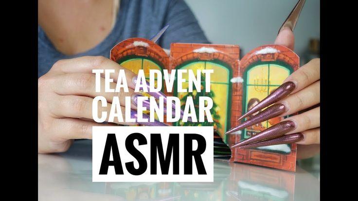 MY GERMAN TEA ADVENT CALENDAR [ASMR SOFT SPOKEN IN ENGLISH AND GERMAN]