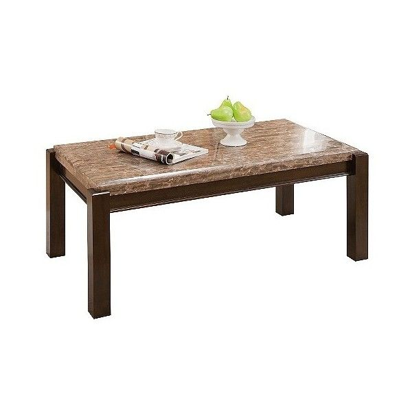 coffee table acme dwayne coffee table emparedora gray marble top