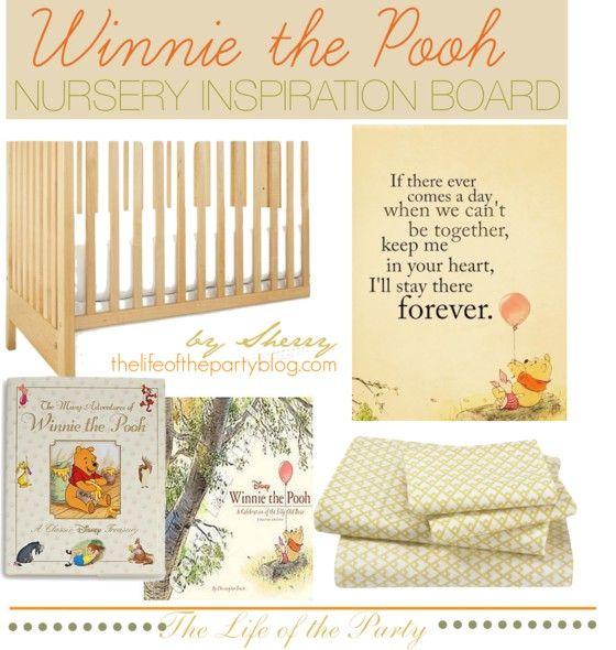 23 best Classic Winnie the Pooh Nursery images on Pinterest | Pooh ...