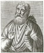 Justin Martyr (from André Thevet). Visit the website for other resolutions.