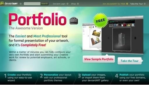 6 fascinantes servicios para publicar tu portafolio online gratis