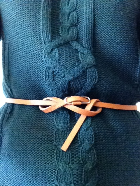 Doble belt knot