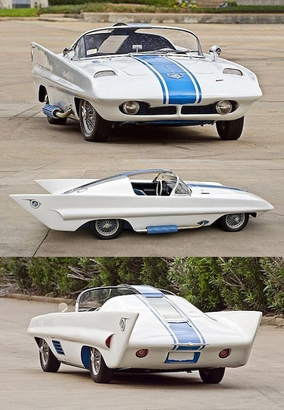 1957 Simca One Roadster concept
