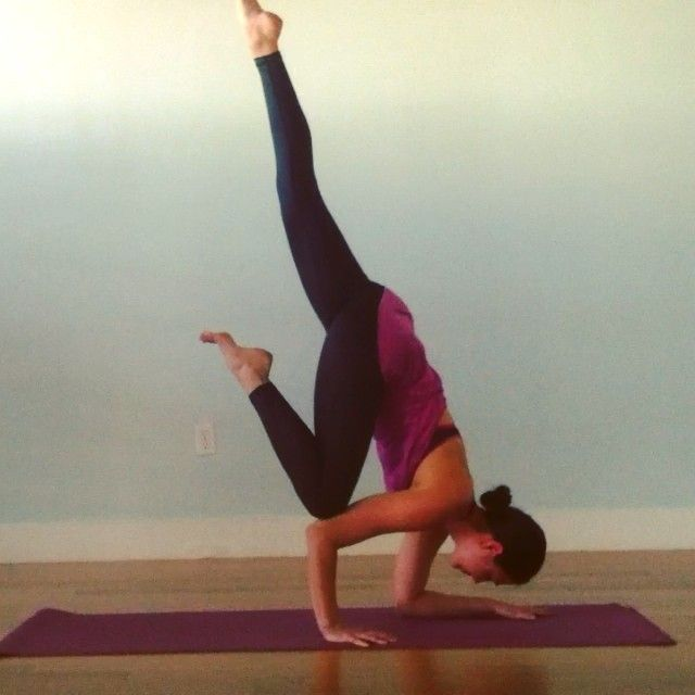 flying crow variation | yoga | Pinterest
