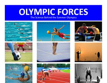 Summer Olympics Forces Set Riot 2016:  Take Advantage of the Rio Summer Olympic Games that not only increase physical science skills but also teach about the Summer Olympics!This Summer Olympics Force Set includes 11 ready made and attractive  Olympic Force sets.