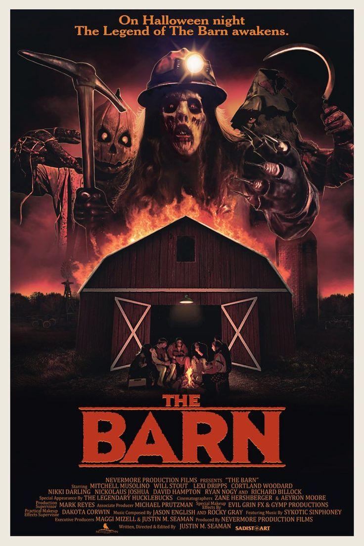 director justin seaman premieres a retro trailer for upcoming halloween horror the barn - Scary Movie For Halloween
