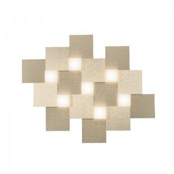 Creo LED Deckenleuchte 7-flg champagner Grossmann 77-770-075