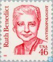 Stamps - United States - Ruth Benedict