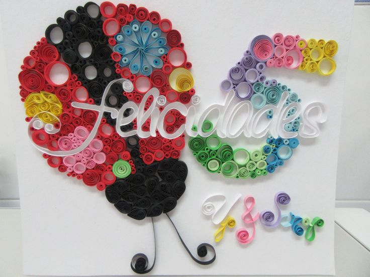 LayOut/cuadro técnica Quilling