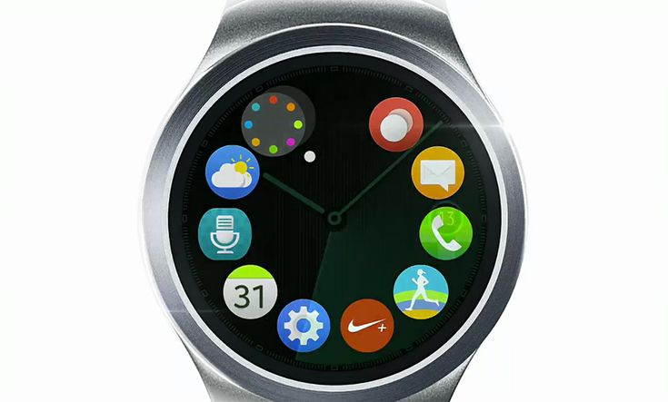 Samsung teases round Gear S2 smartwatch. #wearables #smartwatches
