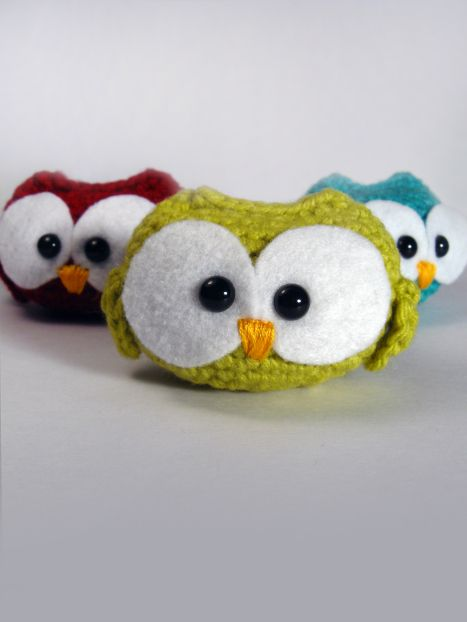 Confused owl with Free Crochet pattern #amigurumi ^^