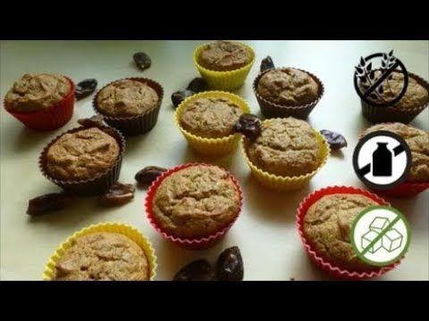 Date Muffins Recipe | Gluten-Free, Dairy-Free, Naturally Sweetened, Nut-Free