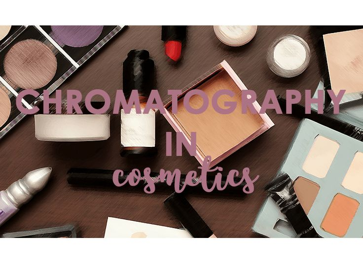 A scientific study of determining the preservatives in different cosmetics using thin-layer chromatography.