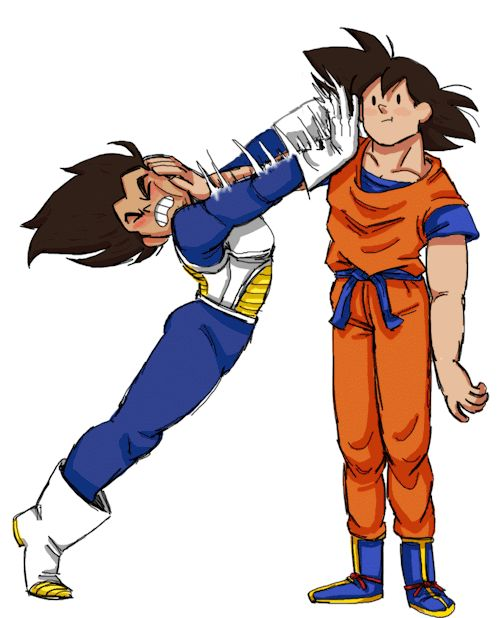 Lol already posted this but it reminds me of the whole entire Goku Vegeta rivalry in one pic, sorry Veggie Chan!!