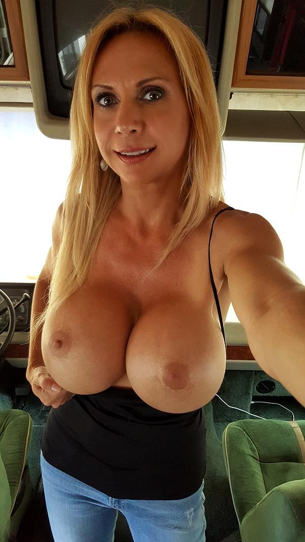 Busty girlfriend showing all