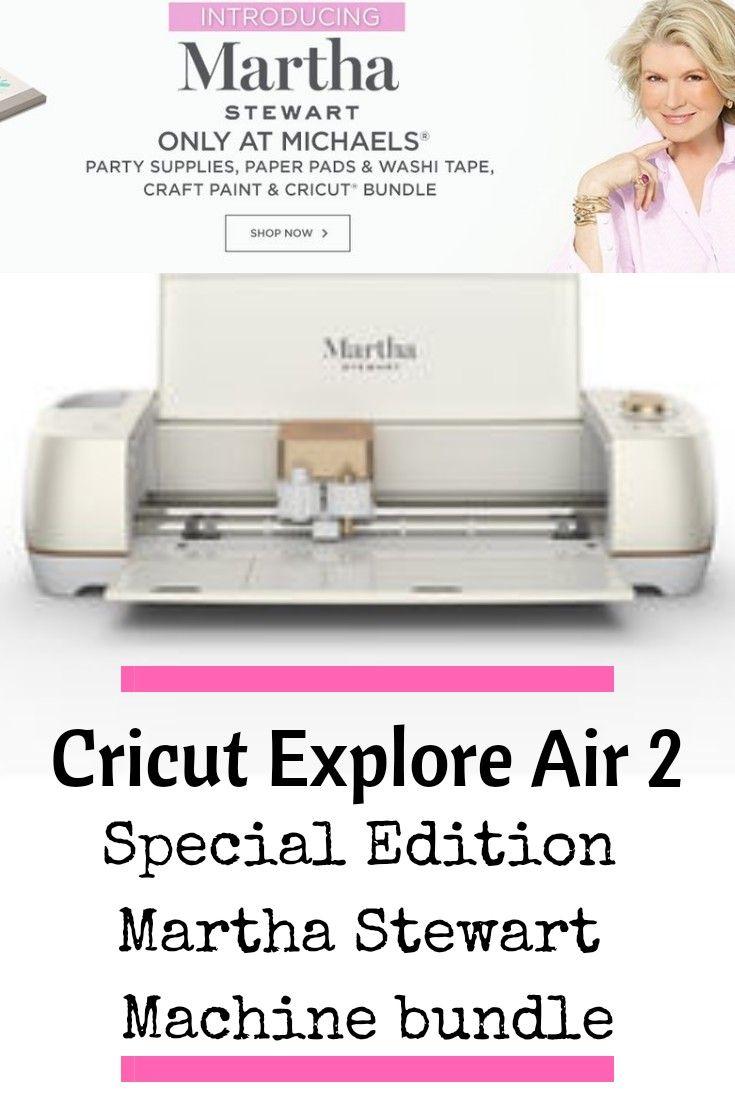 New Online Only Cricut Explore Air 2 Special Edition Martha Stewart Machine Bundle Bring Cricut Explore Air 2 Christmas Decorations Rustic Fine Point Pens