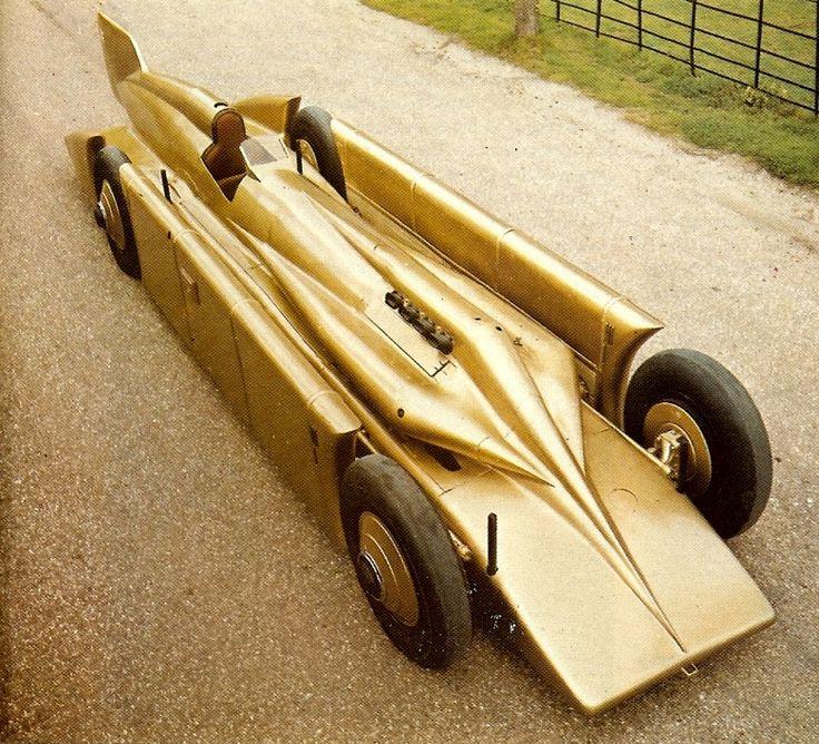 Henry Seagrave's 1929 900bhp Golden Arrow