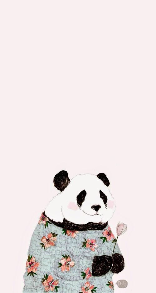 Imagen de panda, cute, and animal