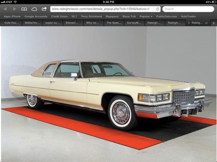 384 best Cadillac 1971-76 images on Pinterest   Cadillac, Cars and