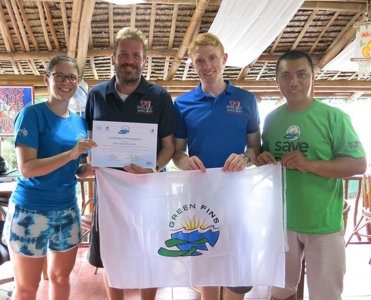 Badladz Dive Resort is once again in the top 10 Dive Shops in the world for their lack of environmental impact. After Charlie from Green fins conducted our assessment we were all very proud to be told we had lowered our score yet again. Well done to all the staff for your hard work and dedication to protect the reef and marine life.  #greenfins #scubadivingphilippines #badladzscubadiving #badladzdiveresort