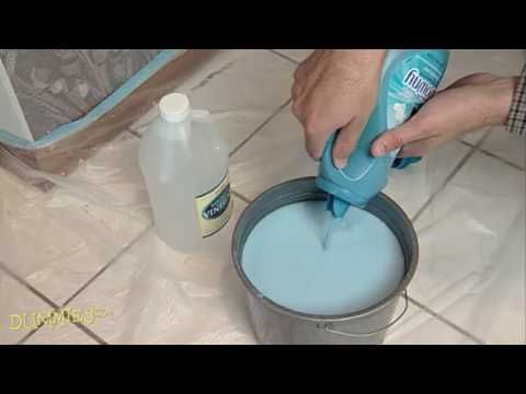 How to Remove Old Wallpaper For Dummies - YouTube