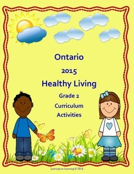 Not sure how to approach the new Healthy Living Grade 2 Curriculum? Look no further! The Healthy Living section is Part C in The Ontario Ministry of Education,  Health and Physical Education (Grade 2) Ontario Curriculum Document.This resource does not replace the document.This resource has been created to facilitate the task of  teaching the many required expectations in the Healthy Living section.The Healthy Living section (Grade 2) is divided into four topics.