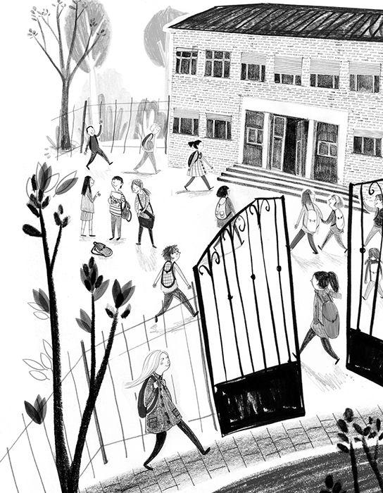 Anuska Allepuz ilustra ¡Nata y Chocolate invencibles!, nueva entrega de Alicia Borrás en Sopa de Letras (Anaya).