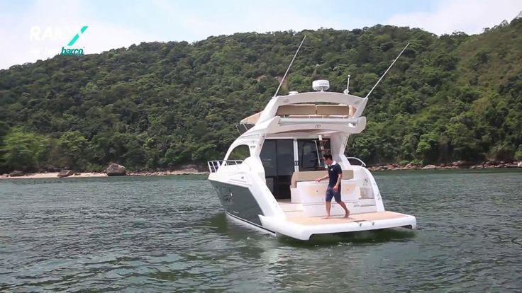Raio-X Bombarco Triton 440 Fly / Teste barco / Review boat Triton 440 fly. Uma grande fusão entre Armatti, Fishing e Triton, com design clássico moderno. Motorização 2 D6 VOLVO PENTA 370 HP cada, equipado com Rabetas.