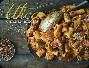 The Brooklyn Ragazza: Utica Chicken Riggies (Original, Chef Joe Morelli recipe)