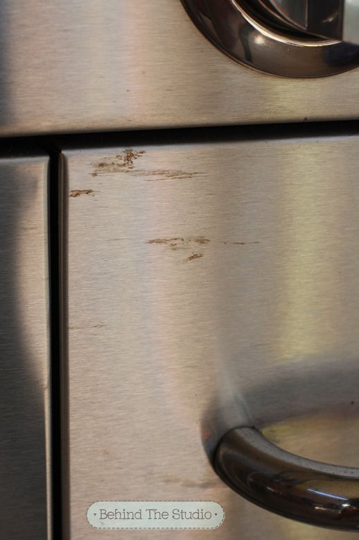 Natural cleaning method – remove rust marks from stainless steel using lemon juice and cream of tartar  October