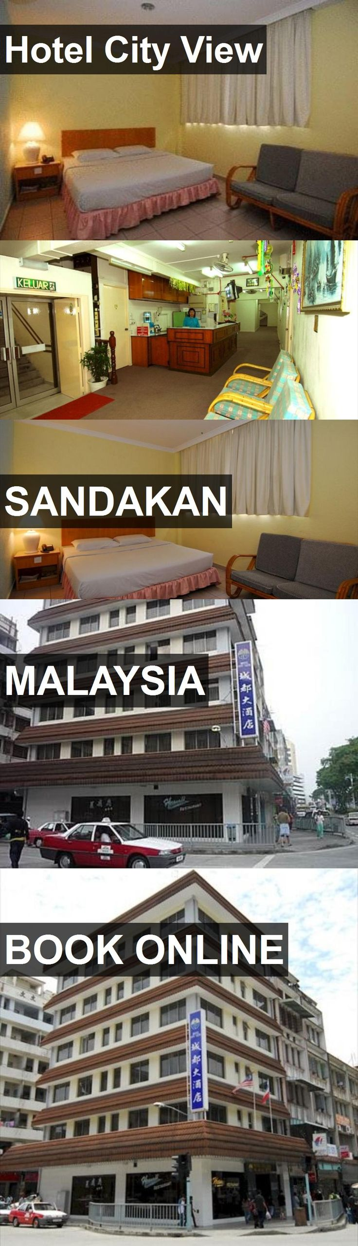 Hotel Hotel City View in Sandakan, Malaysia. For more information, photos, reviews and best prices please follow the link. #Malaysia #Sandakan #HotelCityView #hotel #travel #vacation