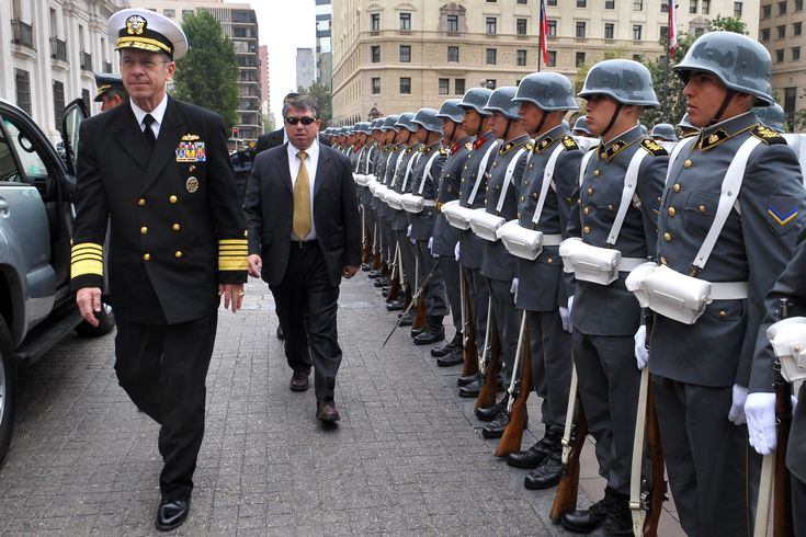 chilean military | ... Chilean officials and speak at the Chilean Army War College. DoD photo