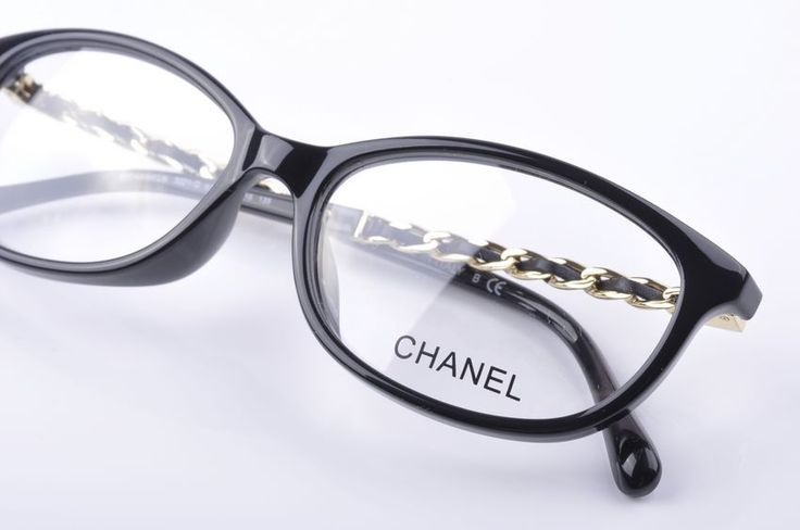CHANEL EYEGLASSES EYEWEAR SPECTACLE FRAME 3203 BLACK FRAME ...