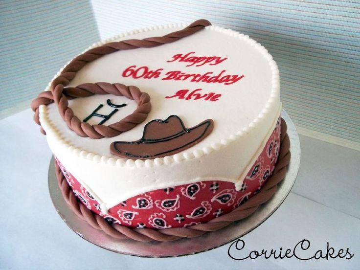 Sheet Rodeo Birthday Cakes